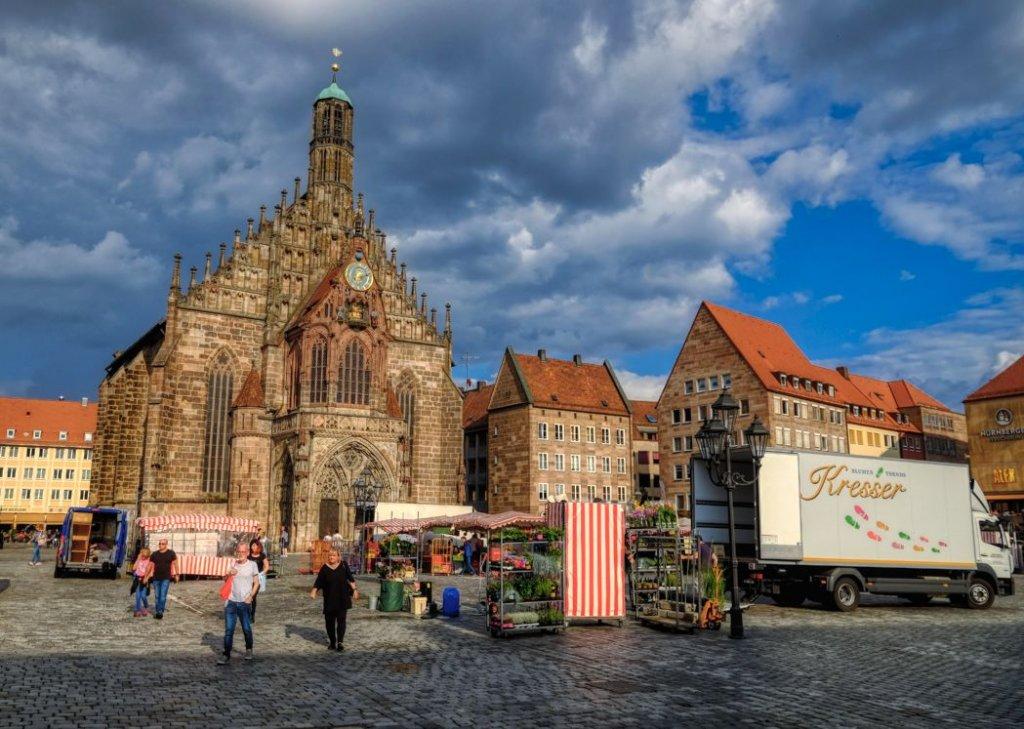 纽伦堡中心市场